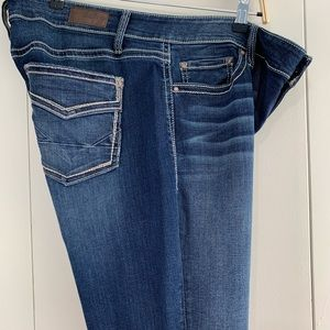 Daytrip 34R Mila bootcut jeans embroidered pockets